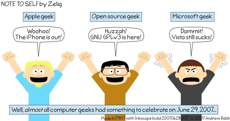 Geeks Rejoice