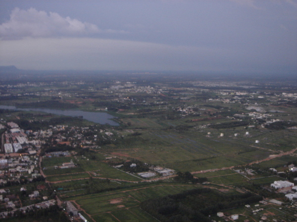 Bangalore from the air