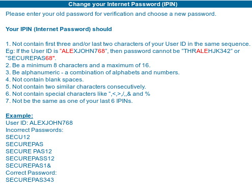 Dominos Pizza online has stronger password requirements than Citibank India  Online « Suramya's Blog